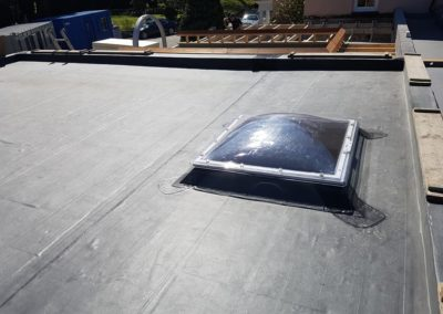 Classic Bond EPDM rubber roofing system in Bangor