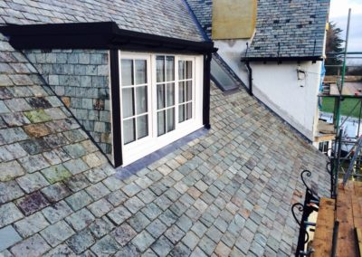 Reclaimed Green Slate Roof In Pentraeth Anglesey