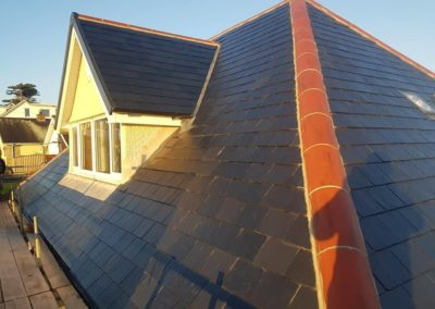 Re roofing on Bay View Road in Benllech