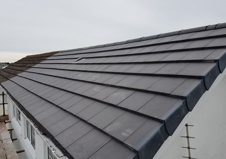 Re roofing in Valley, Anglesey