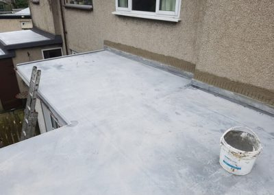 Re roofing on Pernrhos Road, Bangor