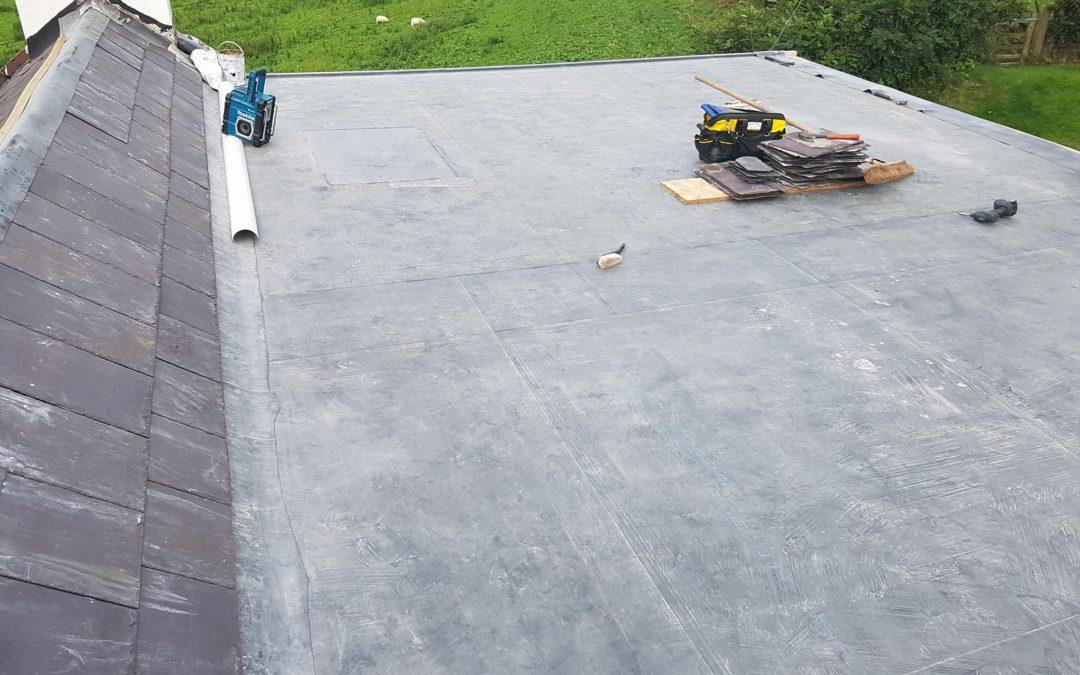 Tal y bont – Flat Roof