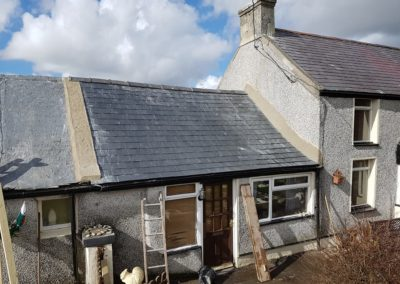 Re roofing in Llynfaes, Anglesey